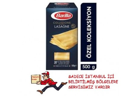 Barilla Lazanya/ Lasagne Sade Makarna 500 Gr