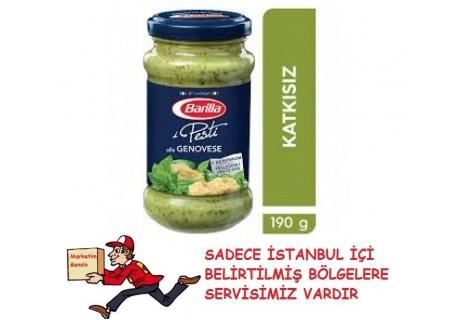 Barilla Pesto Fesleğenli Makarna Sosu 190 g