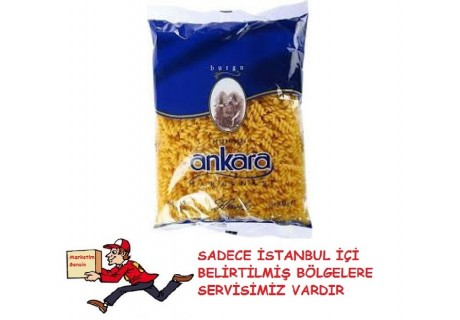 Nuh'un Ankara Burgu Makarna 500 Gr