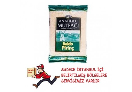Baldo Pirinç Anadolu Mutfağı  2500 Gr