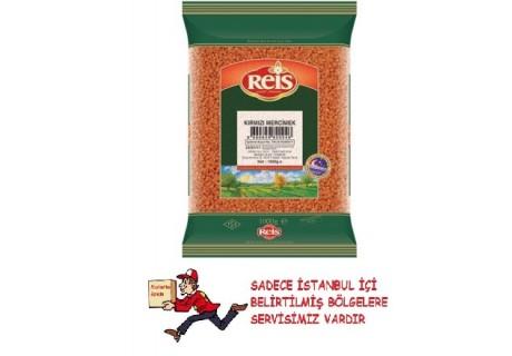 Kırmızı Mercimek  Reis Gıda 1 kg