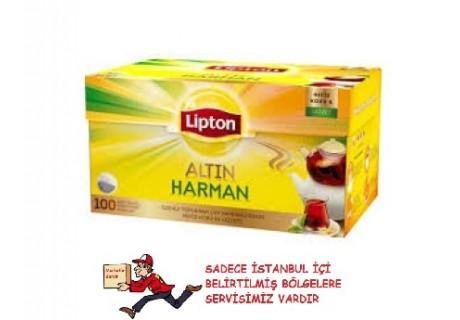 Lipton Altın Harman Demlik Süzen Çay 100 Adet