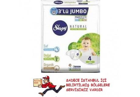 Sleepy 3lü Jumbo 4 Maxi (7-14kg) 90 lı