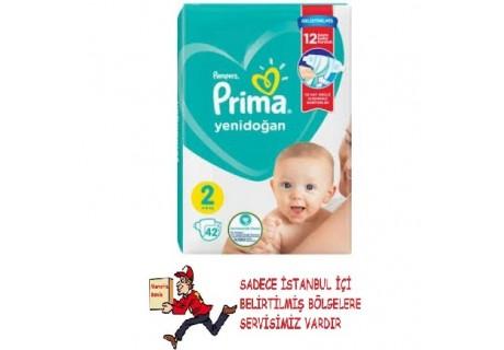 Prima Bebek Bezi Aktif Bebek 2 Beden Mini 42 Adet