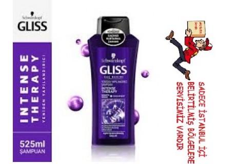 Schwarzkopf Gliss Intense Therapy Şampuan 525 ml