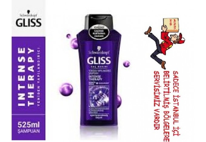 Schwarzkopf Gliss Intense Therapy Şampuan 525 ml