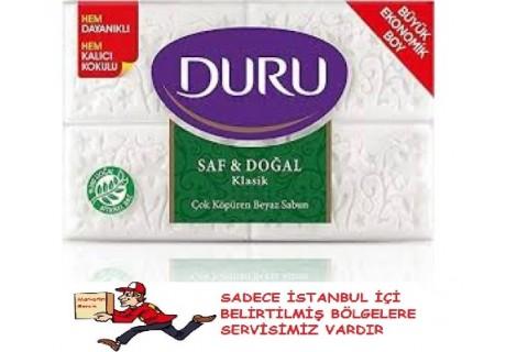 Duru Saf & Doğal Klasik 4x200 gr Banyo Sabunu