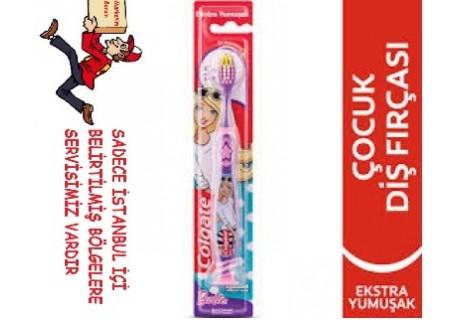 Colgate Barbie Çocuk Diş Fırçası 5+