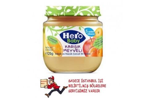 Hero Baby Karışık Meyveli 125 gr