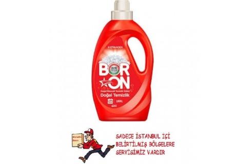 Boron Doğal Temizlik 1.69 lt 26 Yıkama Beyazlar için Sıvı Deterjan