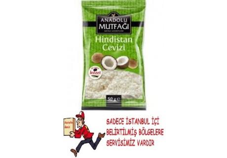 Anadolu Mutfağı Hindistan Cevizi 50 gr