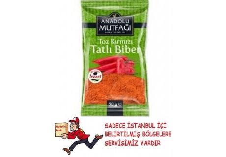 Anadolu Mutfağı Kırmızı Toz Biber Tatlı 50 gr