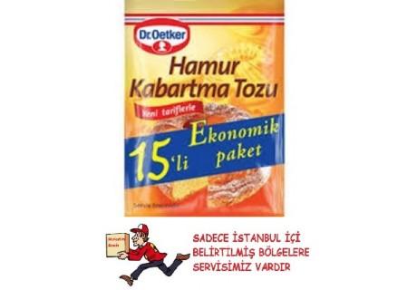 Dr. Oetker Hamur Kabartma Tozu 15'li