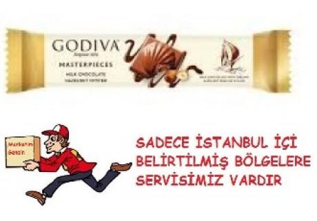 Godiva Sütlü Fındıklı Bar Çikolata İstiridye 30 g