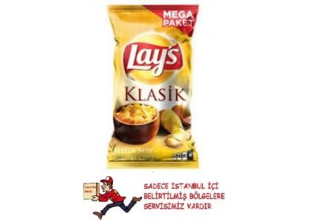 Lay's Klasik Sade Patates Cipsi Mega Boy 193 gr