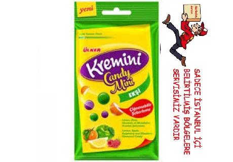 Ülker Kremini Candy Mini Ekşi Çiğnenebilir Şekerleme (30 gram)