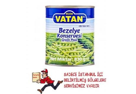 Bizim Vatan Bezelye Konservesi 830 Gr