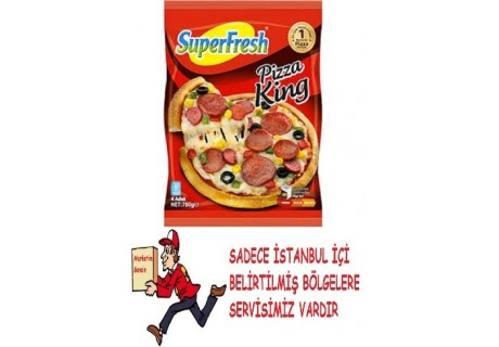 Superfresh Pizza King 4'Lü 780 G