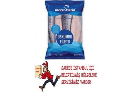 Mezzemarin Uskumru Fileto 500 gr
