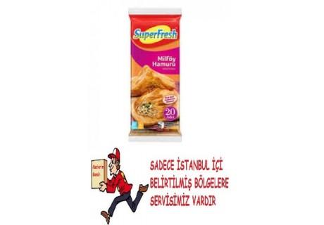 Superfresh Milföy Hamuru 1 Kg