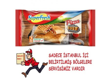 Superfresh Pizza Tost 2 Adet 250 G