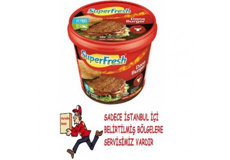 Superfresh Dan Burger Köftesi 500 gr