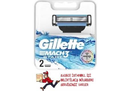 Gillette Mach3 Start Yedek Tıraş Bıçak 2'li