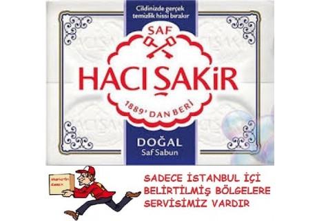 Hacı Şakir Doğal Beyaz Kalıp Sabun 4X150 GR