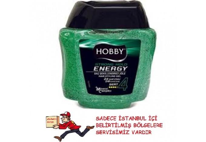 HOBBY ENERJİ SAÇ JÖLESİ SERT 275 ML