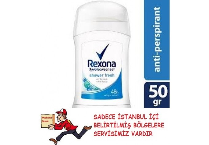 REXONA WOMEN SHOWER CLEAN STİCK 50 ML