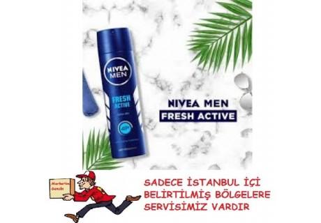 Nivea Fresh Sprey Deodorant 150 Ml Erkek