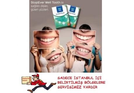 stopever well tooth kürdanlı diş ipi 50 li