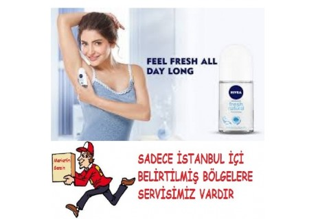 Nivea Fresh Natural Deo Roll-On Kadın 50 ml