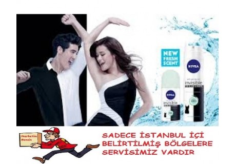 Nivea Invisible Clear Kadın Deodorant 150ml
