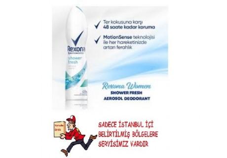 rexona shower fresh sprey deodorant 150 ml