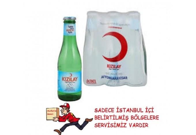 Kızılay Sade Soda Maden Suyu 200 ml 6'lı paket