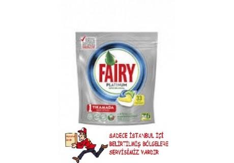 Fairy Platinum Bulaşık Makinesi Deterjanı Kapsülü 33 Yıkama