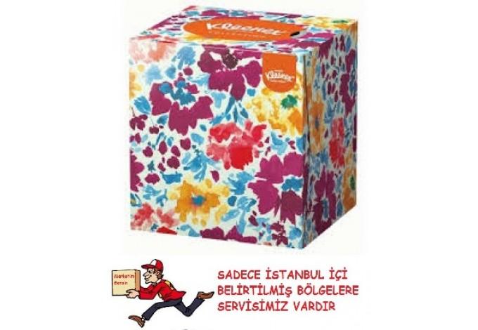 Kleenex Collection Küp Kutu Mendil 56'lı