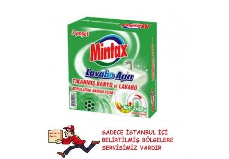 Mintax Lavabo Açici 3*80 Gr