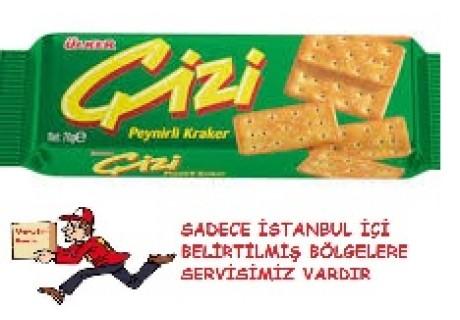 Ülker Çizi Kraker Peynirli 63 Gr