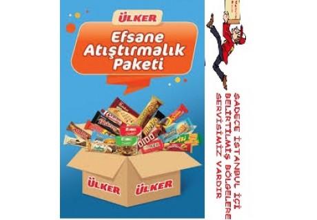 Ülker Efsane Atıştırmalık Paketi 15 çeşit