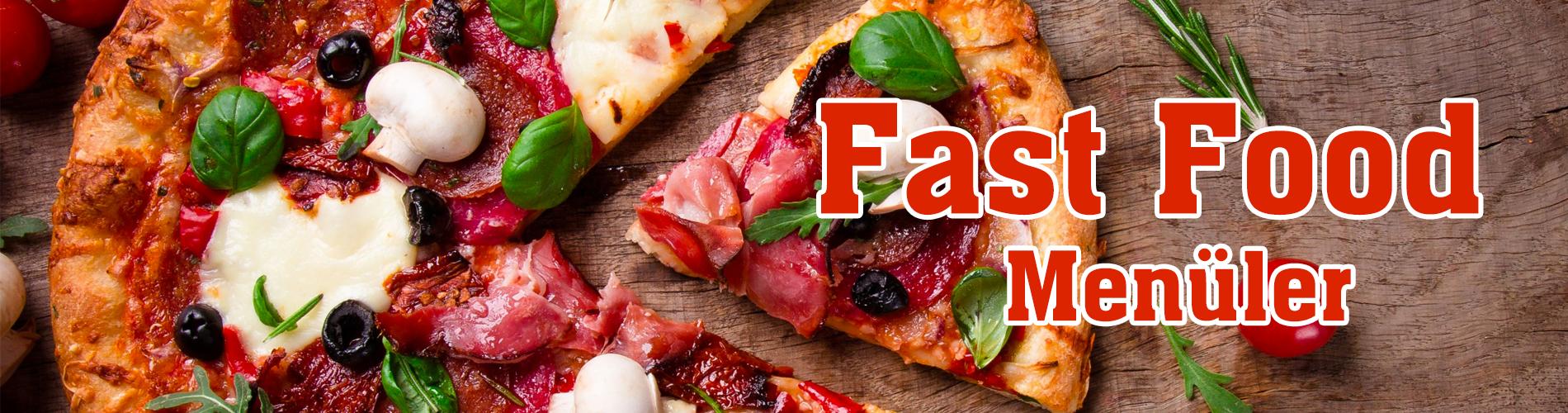 Fast Food Menüler